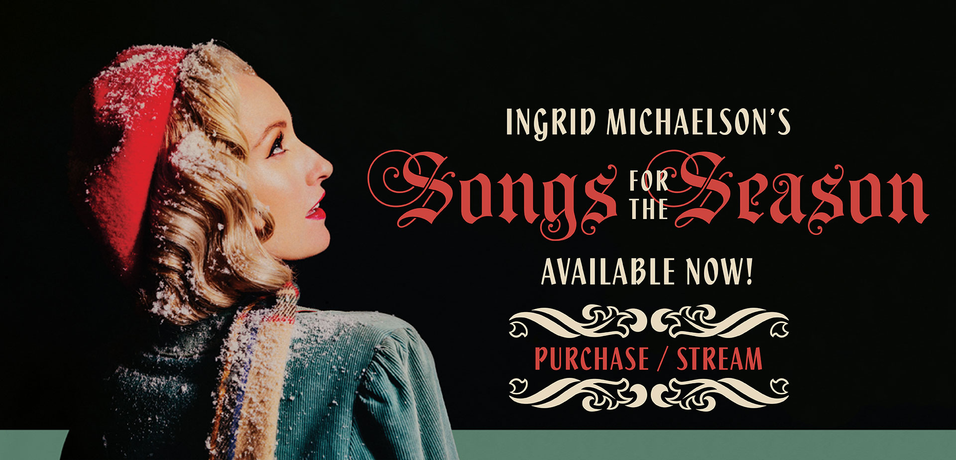 Ingrid Michaelson's Songs For The Season Available Now! Purchase/Stream
