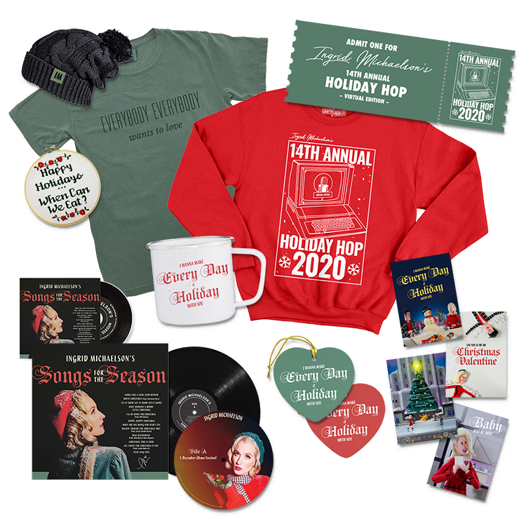 Ingrid Michaelson Holiday Merch