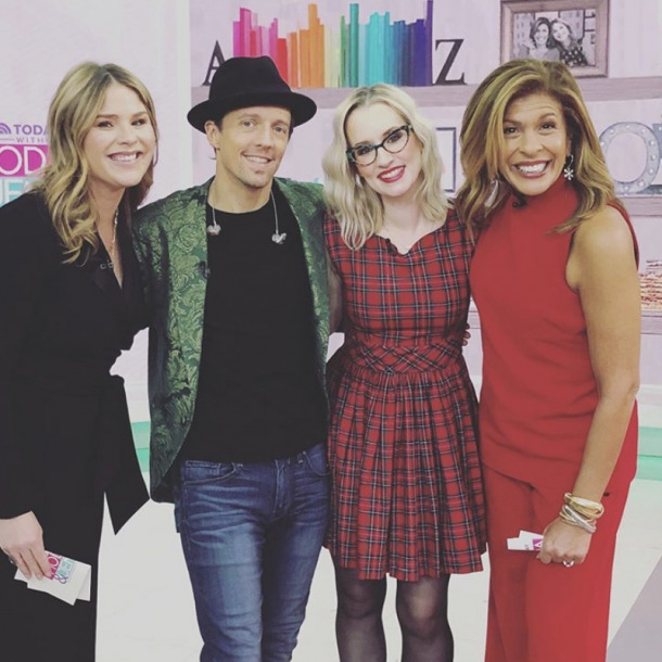 Ingrid Michaelson Jason Mraz Christmas Valentine Today Show